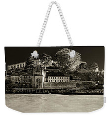 Panorama Alcatraz Up Close Weekender Tote Bag