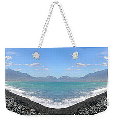 Panorama Lake Weekender Tote Bag