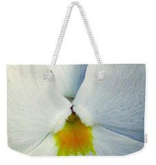 Pansy Flower 19 Weekender Tote Bag