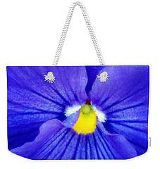 Pansy Flower 37 Weekender Tote Bag