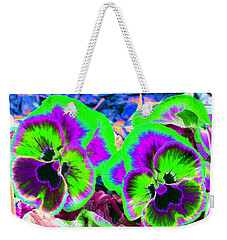 Pansy Power 60 Weekender Tote Bag
