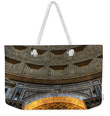 Pantheon Ceiling Detail Weekender Tote Bag