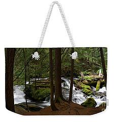 Panther Creek Panorama- Washington Weekender Tote Bag