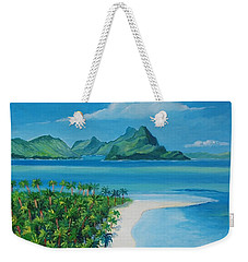 Papeete Bay In Tahiti Weekender Tote Bag
