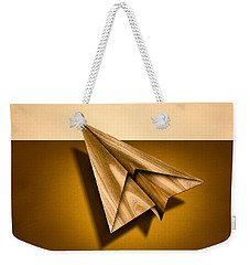Paper Airplanes Of Wood 1 Weekender Tote Bag