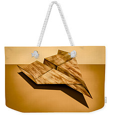 Paper Airplanes Of Wood 5 Weekender Tote Bag
