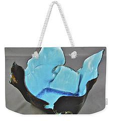 Paper-thin Bowl  09-001 Weekender Tote Bag by Mario Perron
