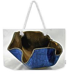 Paper-thin Bowl  09-005 Weekender Tote Bag by Mario Perron
