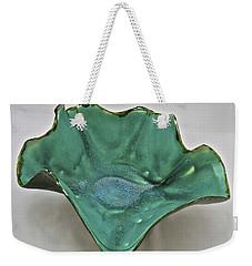 Paper-thin Bowl  09-009 Weekender Tote Bag by Mario Perron