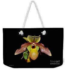 Paphiopedilum 'summer Ice' Orchid Weekender Tote Bag