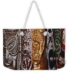 Papua New Guinea Masks Weekender Tote Bag