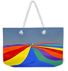 Parachute Of Many Colors Weekender Tote Bag