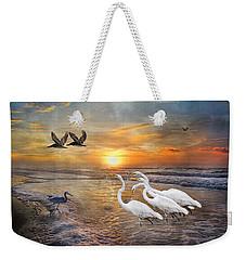 Paradise Dreamland  Weekender Tote Bag by Betsy Knapp