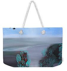 Paradise Weekender Tote Bag by Lorna Maza