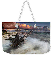 Paradise Lost Weekender Tote Bag by Mihai Andritoiu
