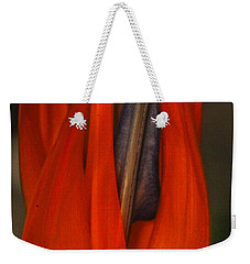 Paradise On Fire Weekender Tote Bag by Michael Cinnamond