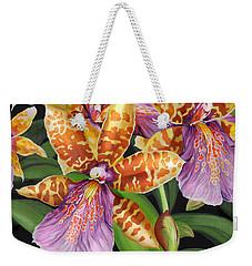 Paradise Orchid Weekender Tote Bag