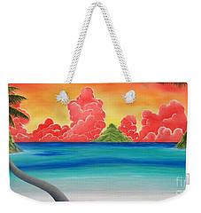 Paradise Panorama Weekender Tote Bag