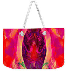 Weekender Tote Bag featuring the digital art Paradise Revisited by Clayton Bruster