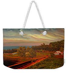 Paradise Road Weekender Tote Bag
