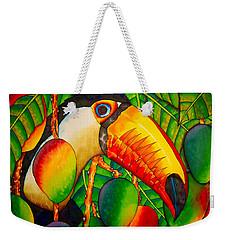 Paradise Toucan Weekender Tote Bag