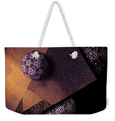 Weekender Tote Bag featuring the digital art Paragon by Susan Maxwell Schmidt
