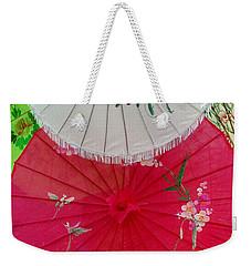 Parasols 1 Weekender Tote Bag by Rodney Lee Williams