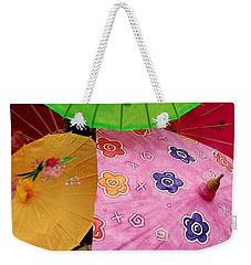 Parasols 2 Weekender Tote Bag by Rodney Lee Williams