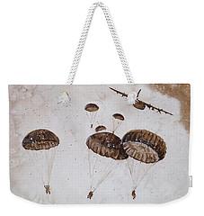 Paratroopers Weekender Tote Bag