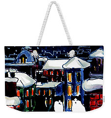 Paris Cats Weekender Tote Bag