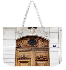 Paris Door - No. 30 - Paris Photography Weekender Tote Bag