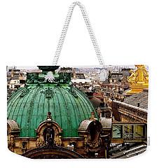 Paris Drizzles Weekender Tote Bag