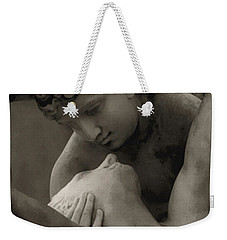 Paris - Eros And Psyche Romantic Sculpture Weekender Tote Bag
