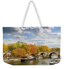 Paris In Autumn Weekender Tote Bag