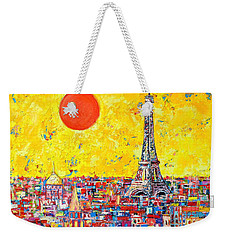 Paris In Sunlight Weekender Tote Bag by Ana Maria Edulescu