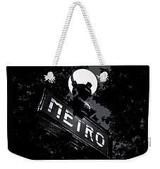 Paris Night Metro By Denise Dube Weekender Tote Bag