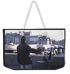 Paris Painter Inspiration Magritte Weekender Tote Bag by Tom Wurl