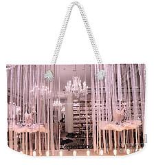 Paris Repetto Ballerina Tutu Shop - Paris Ballerina Dresses Window Display  Weekender Tote Bag by Kathy Fornal
