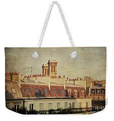 Paris Rooftops Weekender Tote Bag