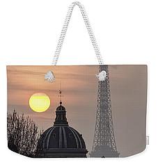 Paris Sunset I Weekender Tote Bag