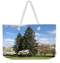 Weekender Tote Bag featuring the photograph Cedar Beach Park  by Jeannie Rhode