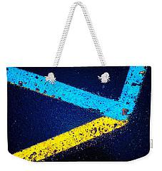 Parking Lot Weekender Tote Bag by Daniel Thompson