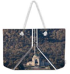 Parliament And War Memorial Australia Weekender Tote Bag