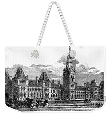Parliament Building - Ottawa - 1878 Weekender Tote Bag