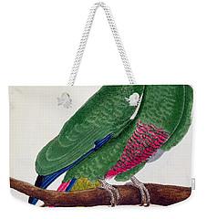 Parrot Weekender Tote Bag by Francois Nicolas Martinet