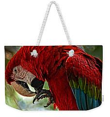 Parrot Preen Hdr Weekender Tote Bag