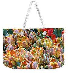 Parrot Tulips Weekender Tote Bag