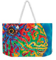 Parrotfish Weekender Tote Bag