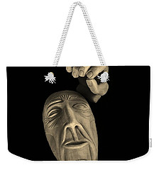 Weekender Tote Bag featuring the sculpture Parts Of The Whole by Barbara St Jean