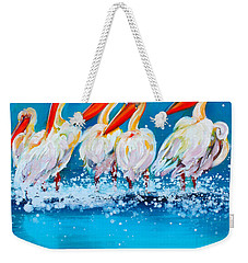Party Girls Weekender Tote Bag